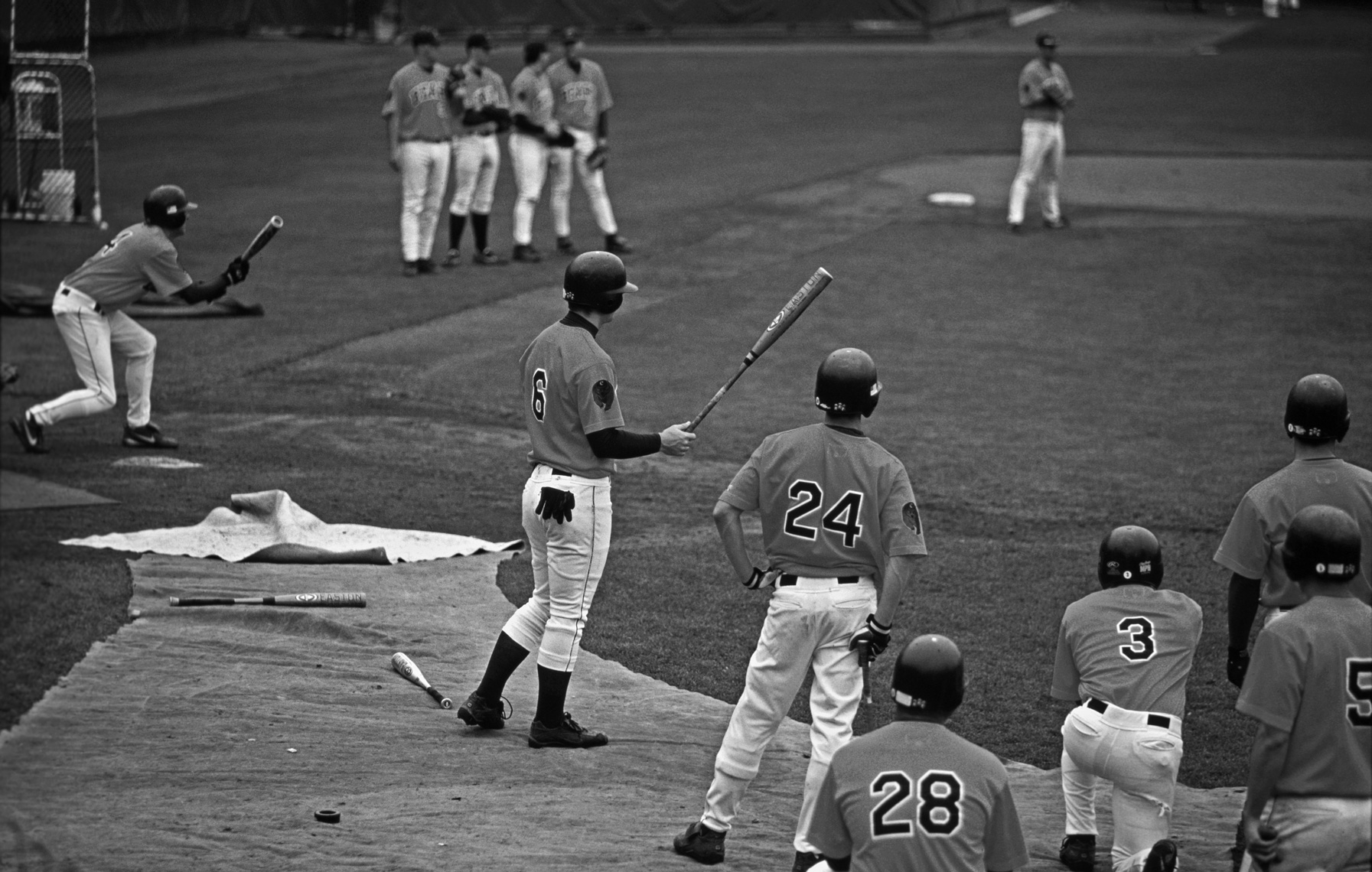 Baseball Batting Practice, Berkeley, CA