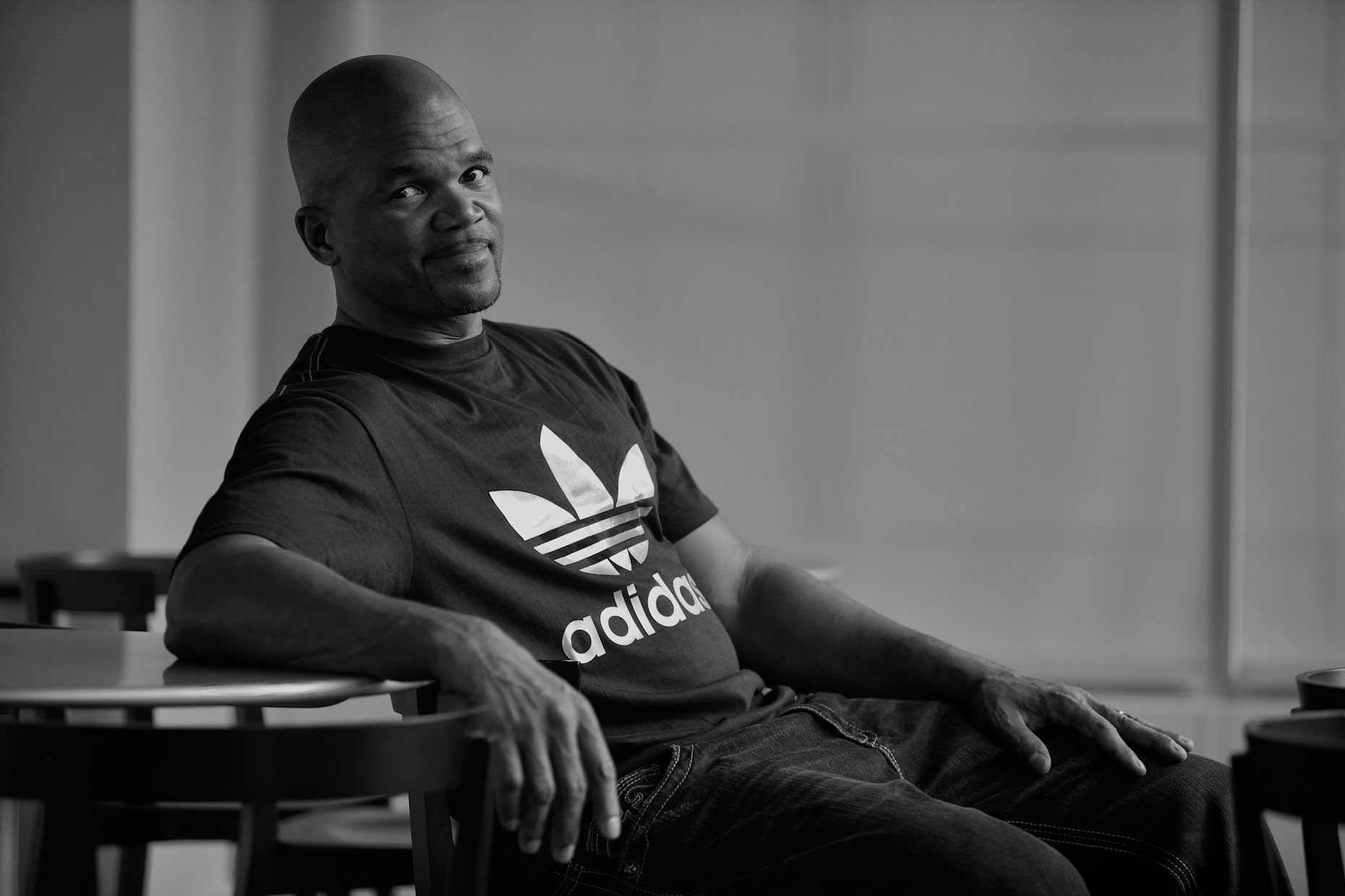 Darryl McDaniels of Run DMC for adidas, New York