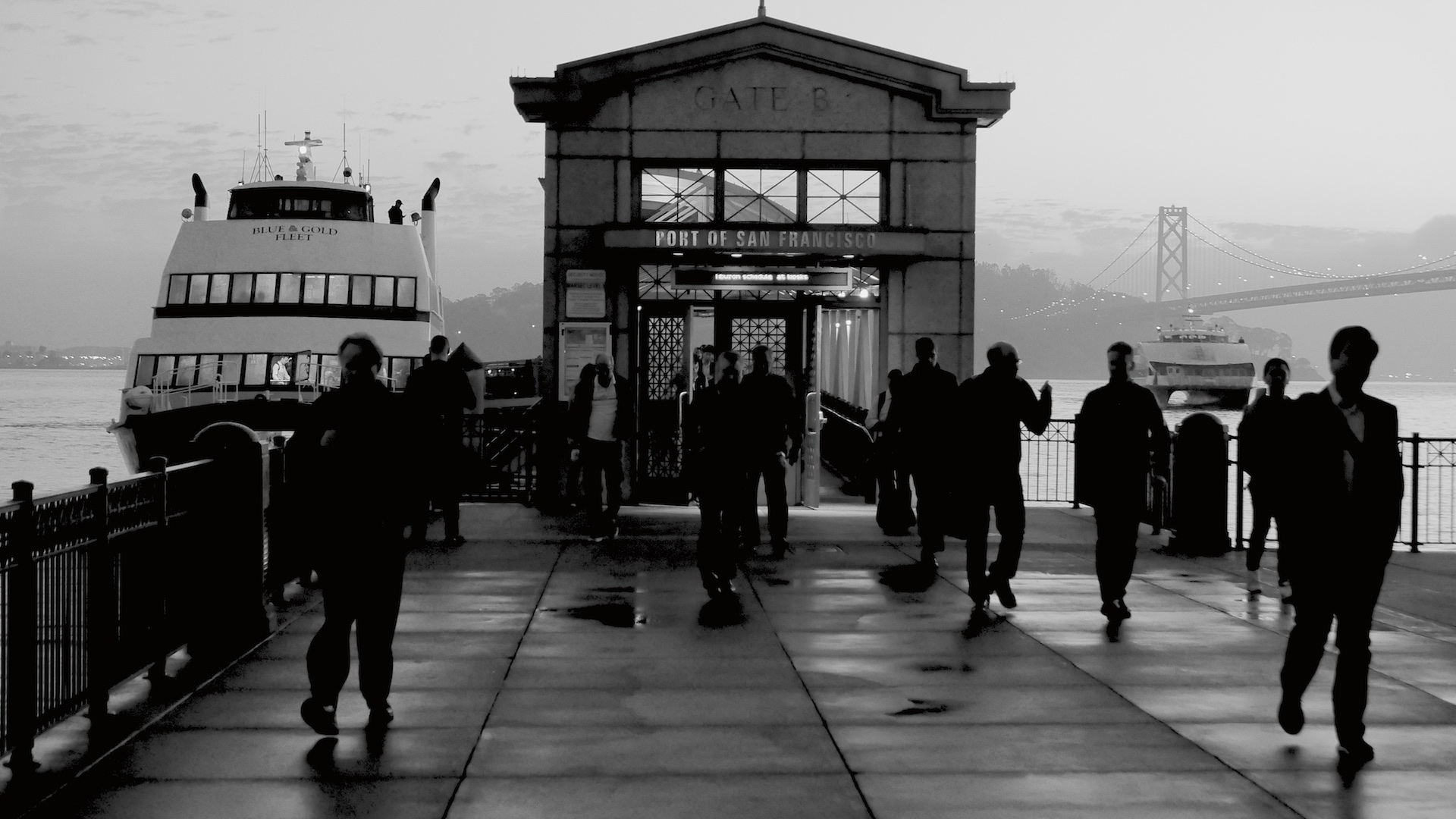 Golden Gate Ferry Terminal, San Francisco