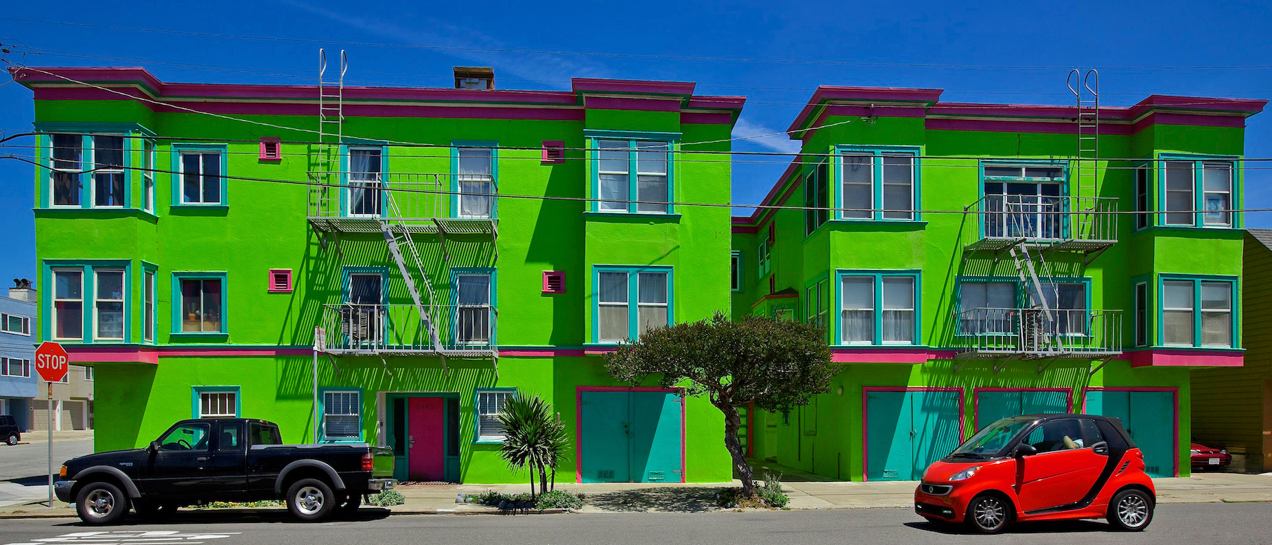 The Green House, Ocean Beach, San Francisco