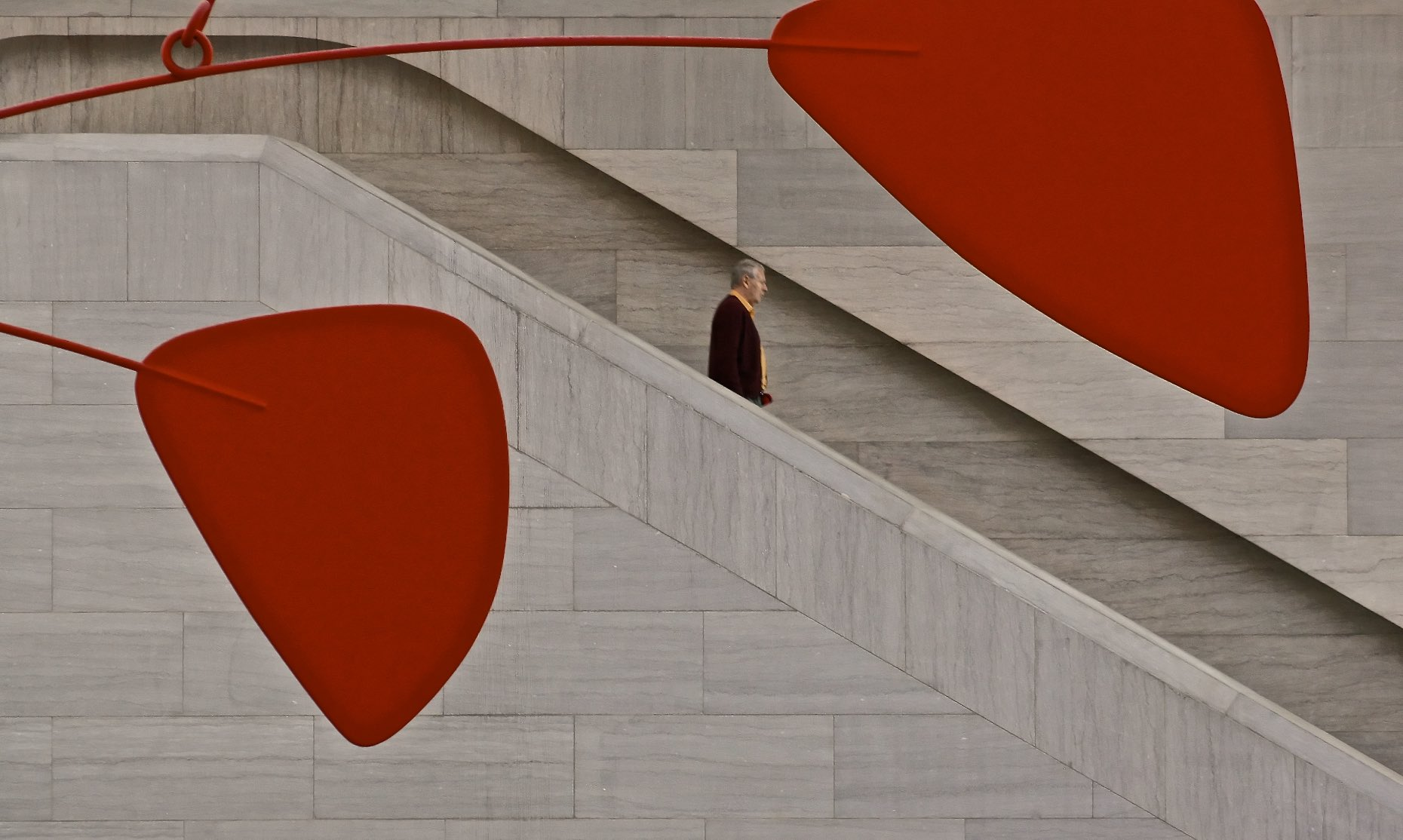 Calder Installation, National Gallery of Art, Washington, DC