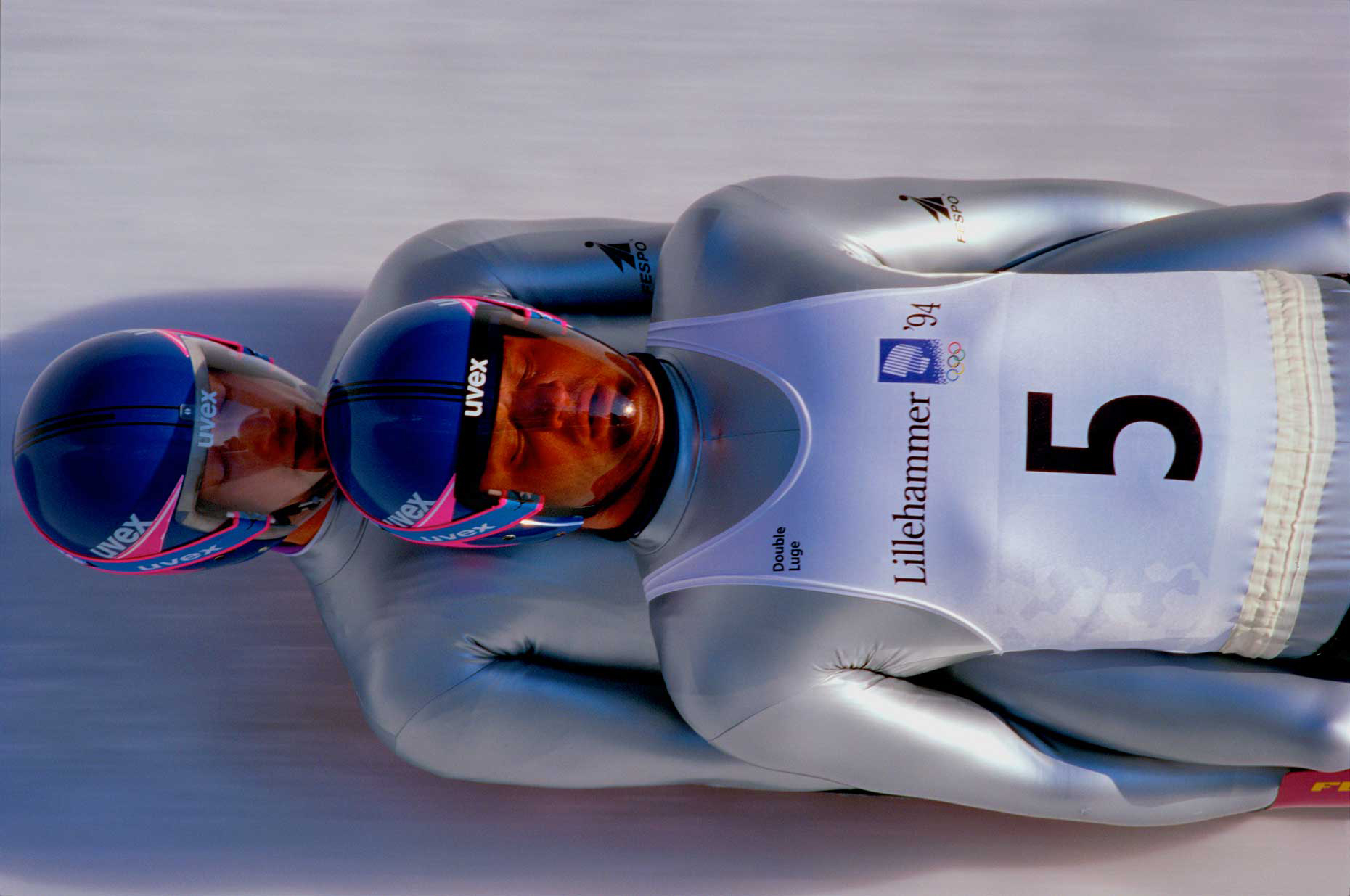 Germany Double Luge, Lillehammer Olympics