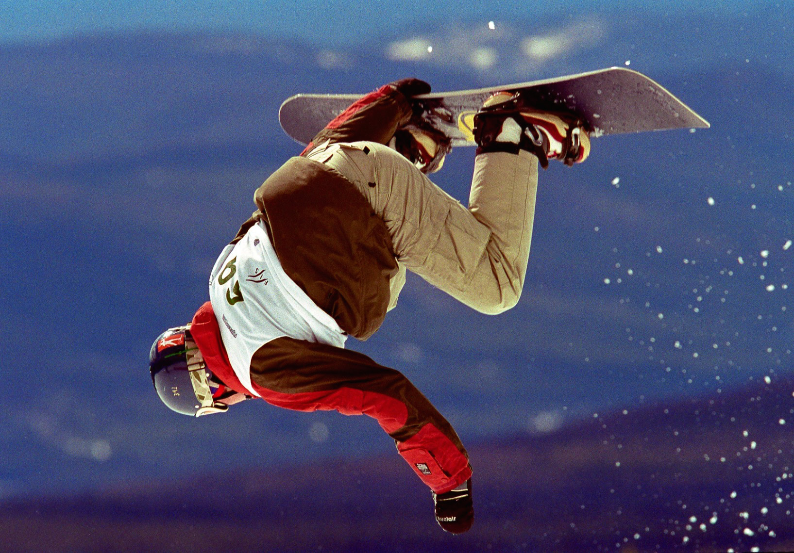 Slopestyle Competition, Big White Ski  Resort, British Columbia