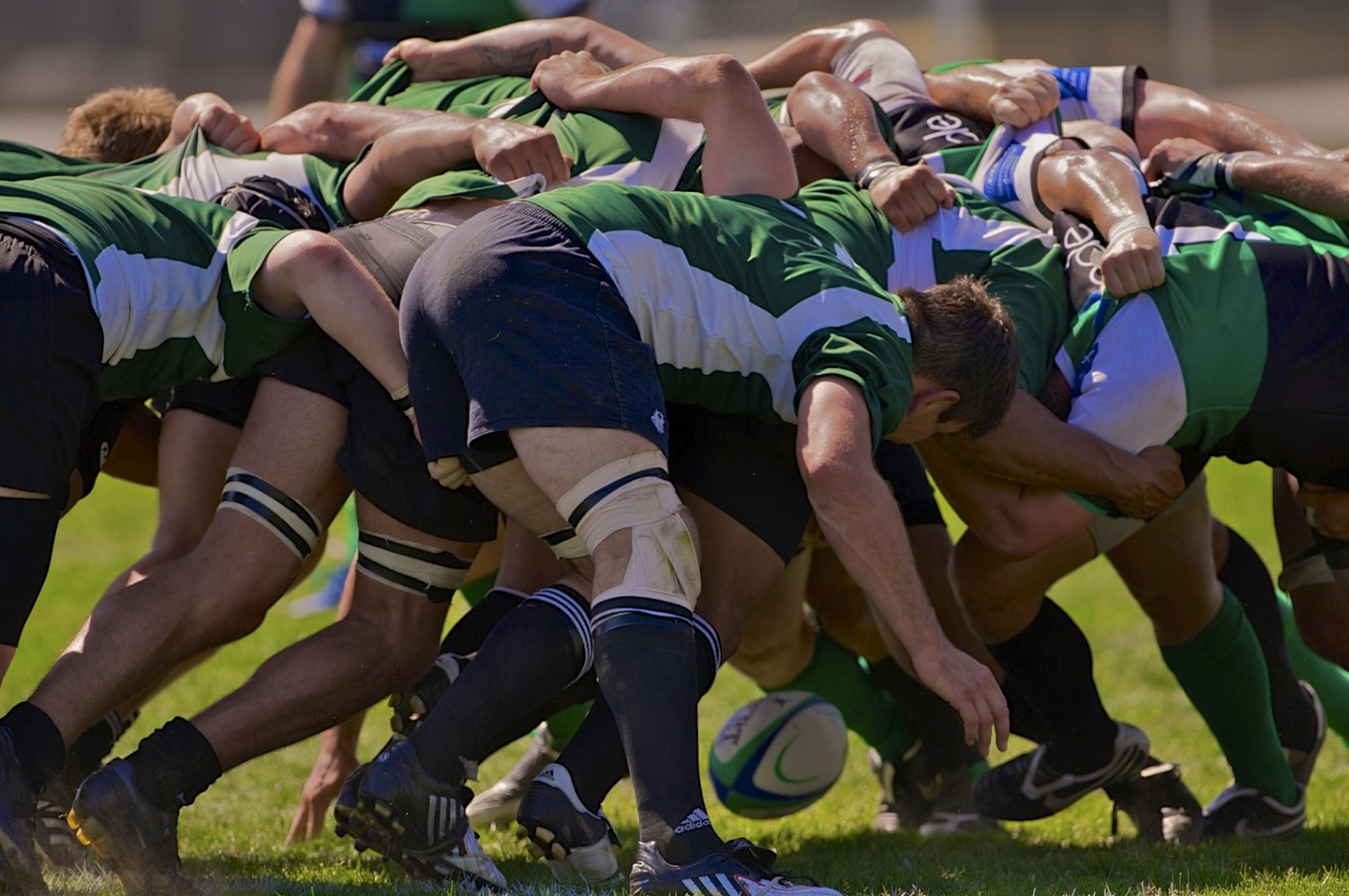 SF Golden Gate Rugby Scrum