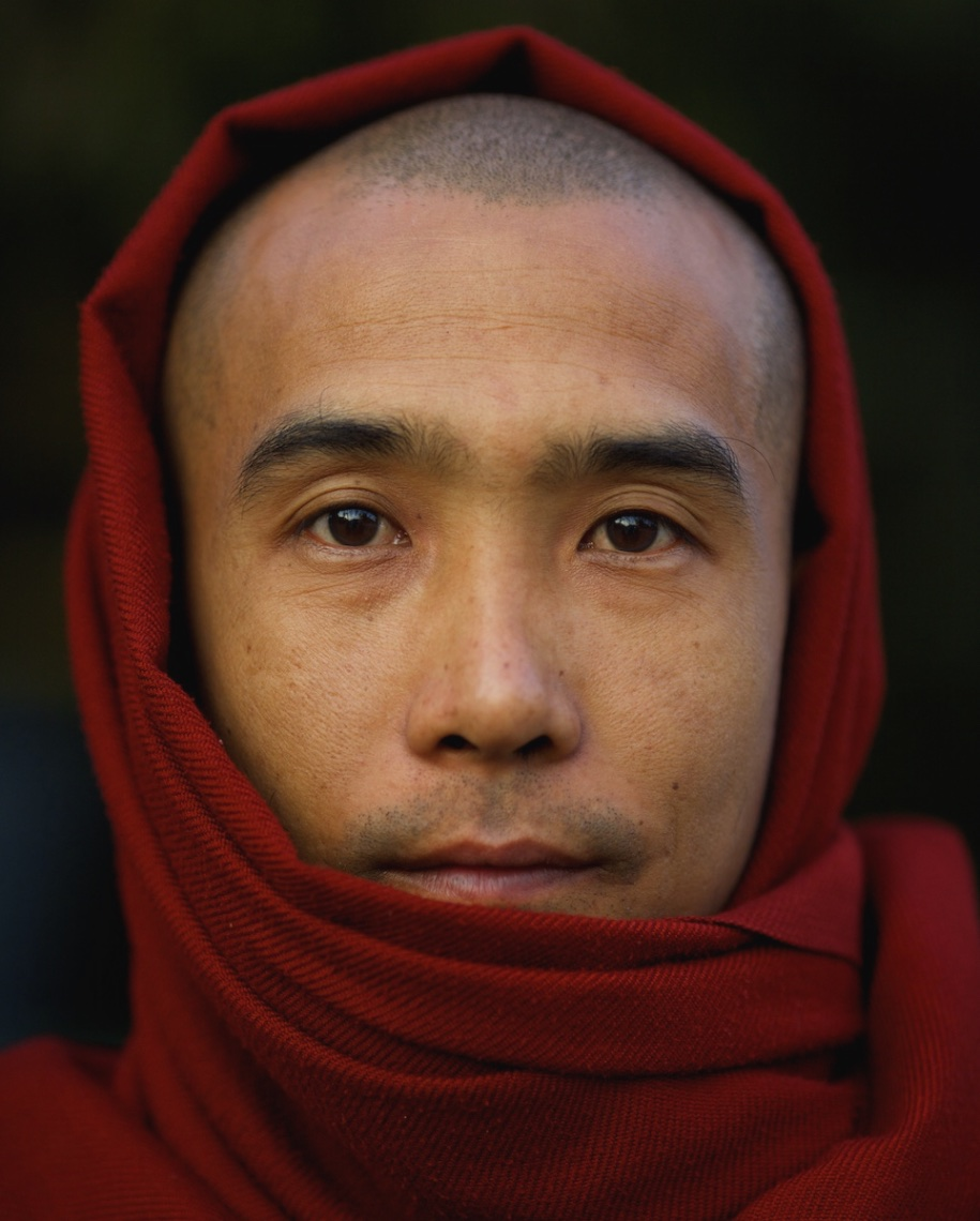 Monk, Mandalay, Burma