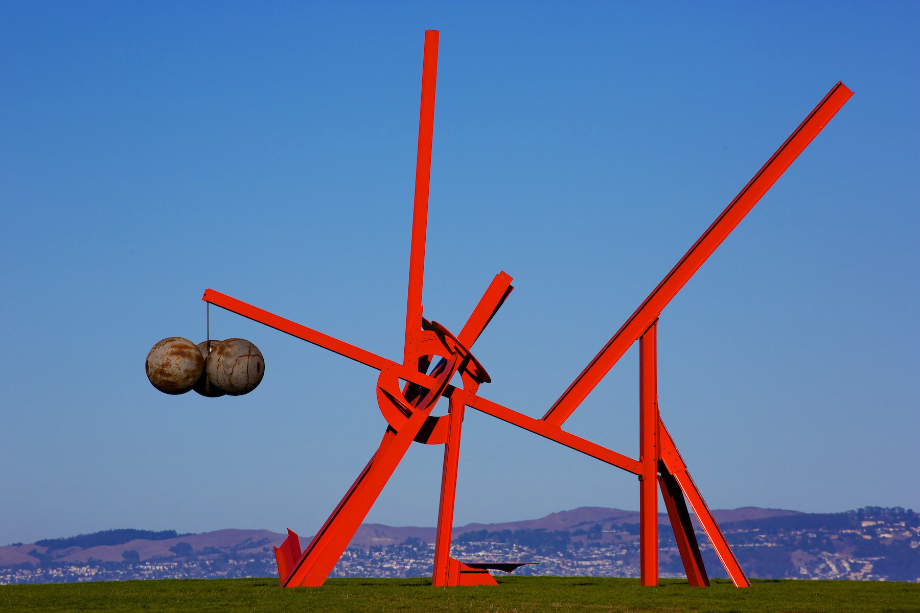 Mark DiSuvero Sculpture, Crissy Field, San Francisco