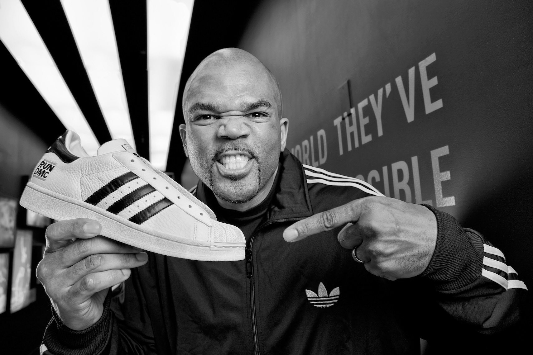 """My Adidas!""-Darryl McDaniels of Run DMC"