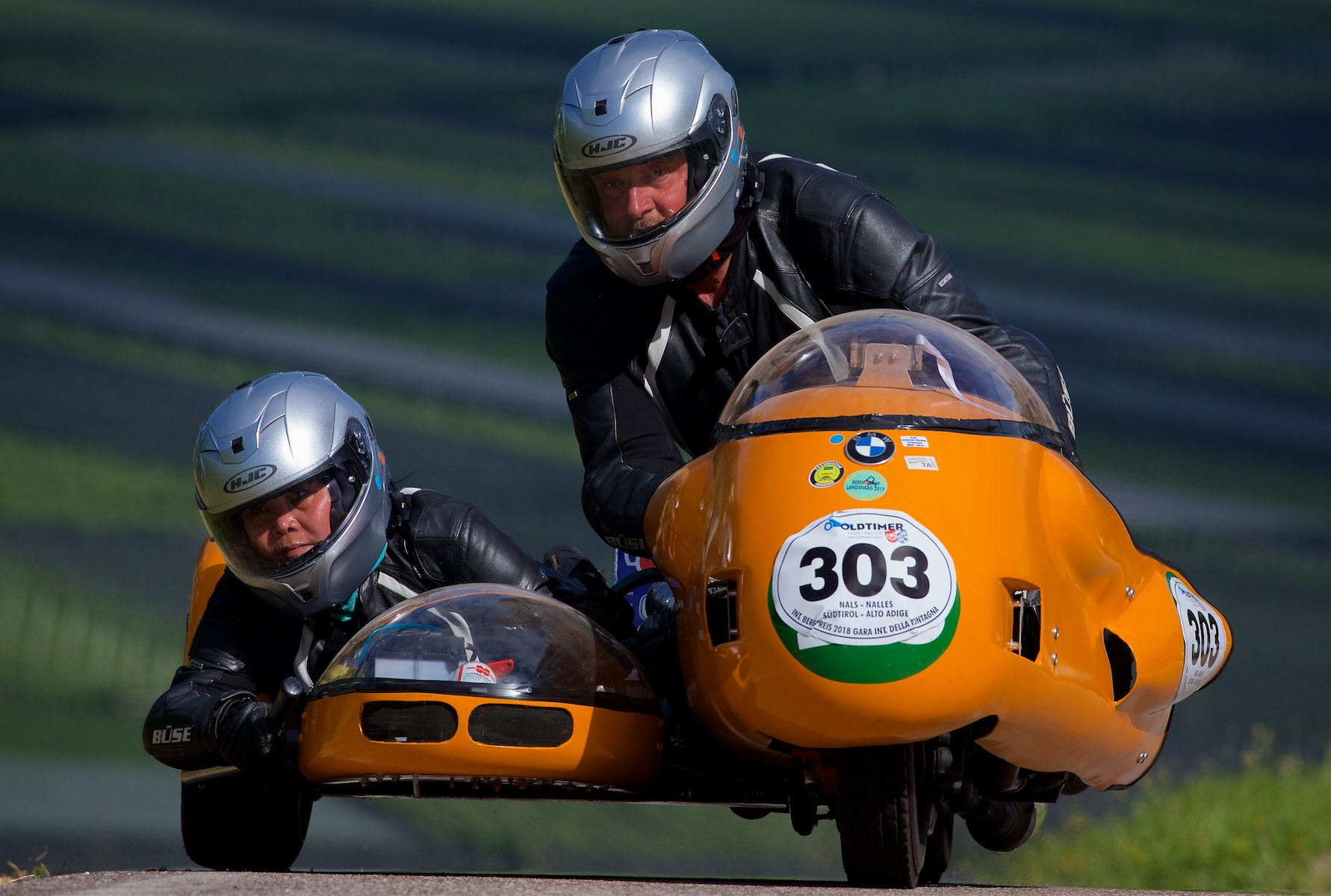 BMW With Sidecar