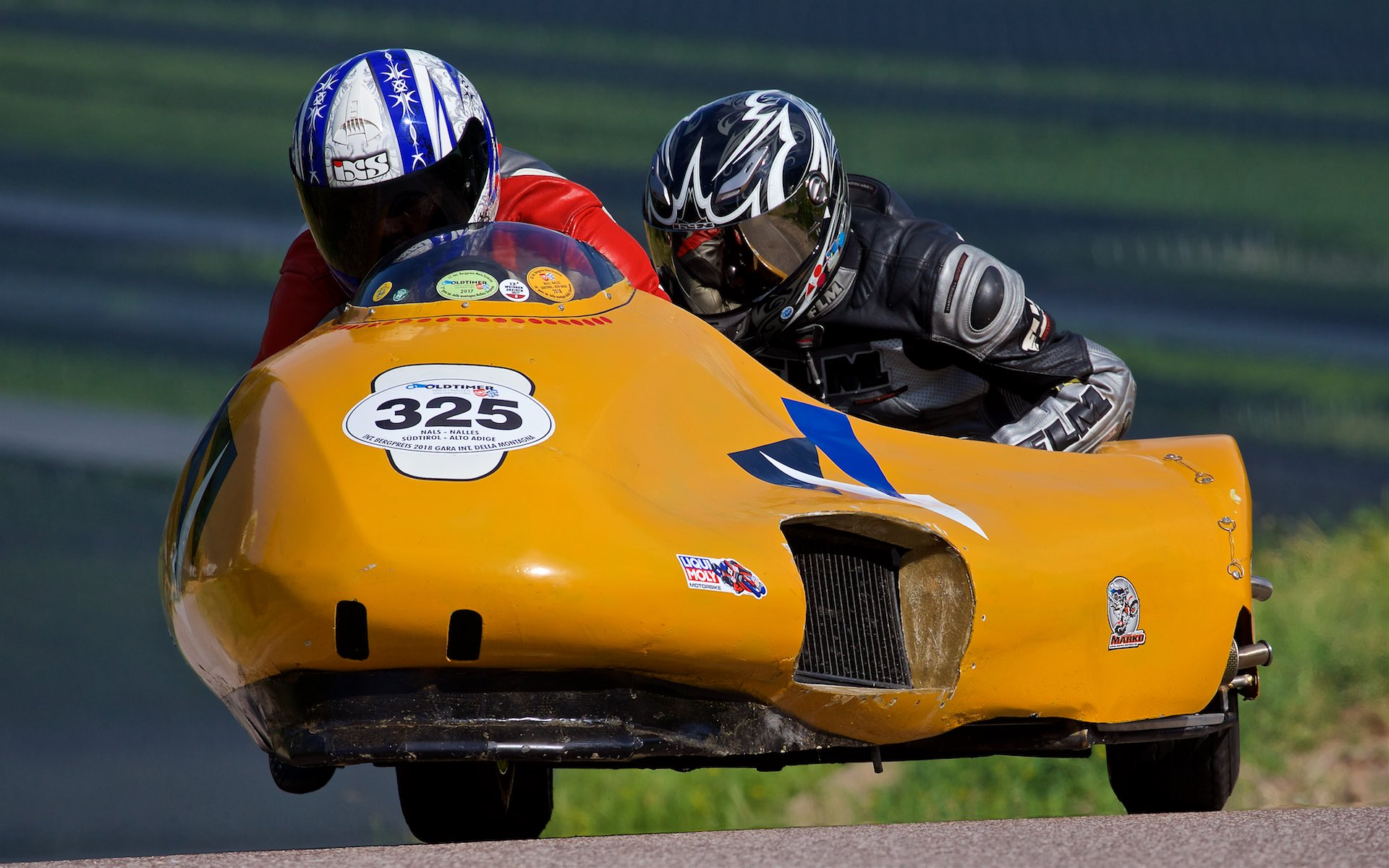 Old Timer Motorcycle Races, Nals, South Tyrol