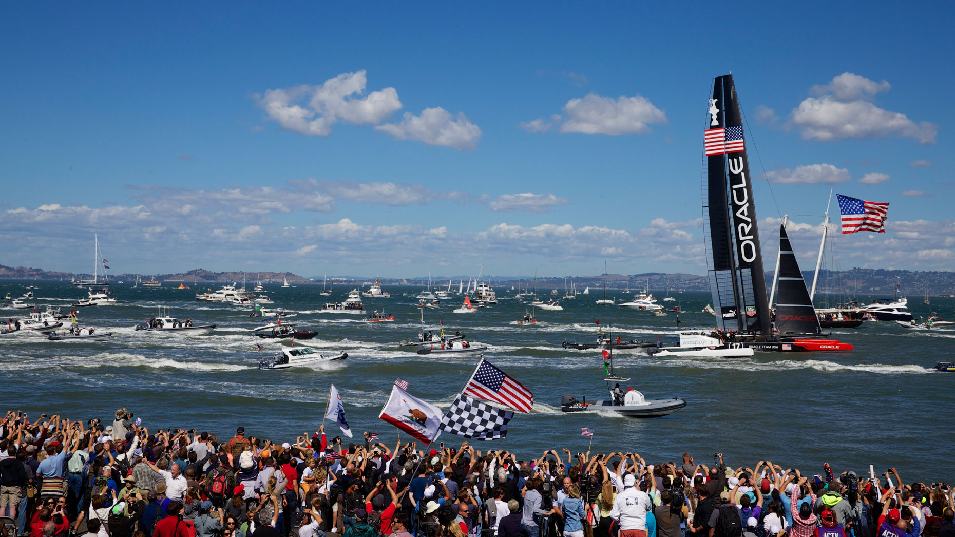 Oracle Team USA Wins America