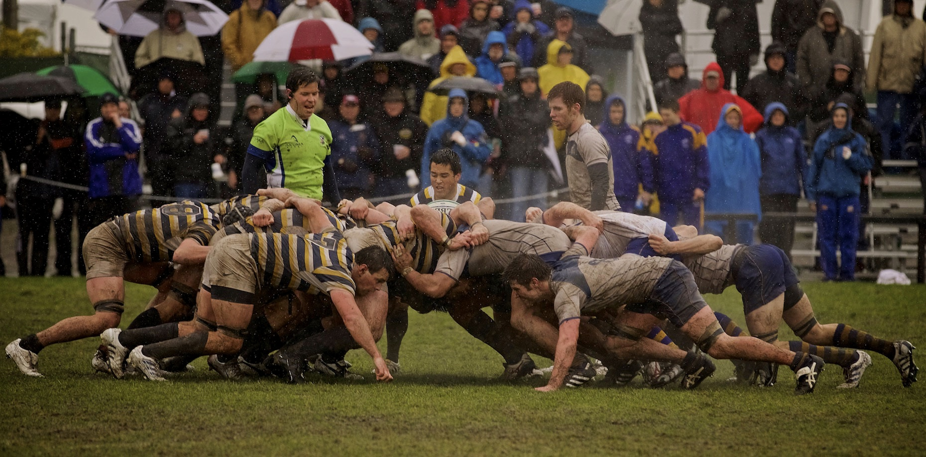 Rugby, Rain or Shine