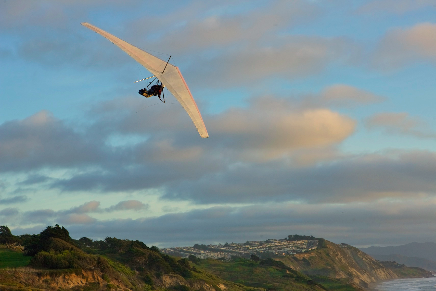 Hang Gliding, Fort Funston, San Francisco