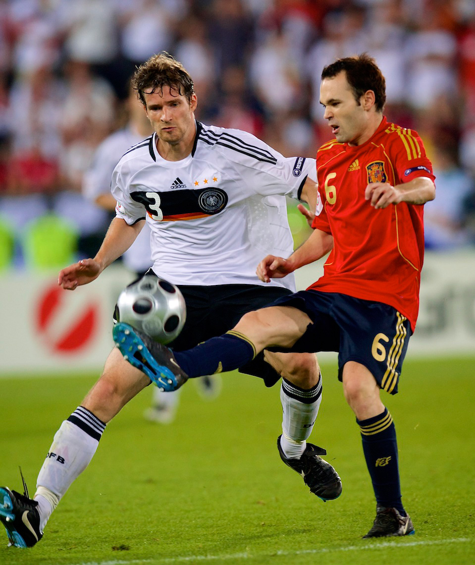 Andres Iniesta, Spain, v. Germany
