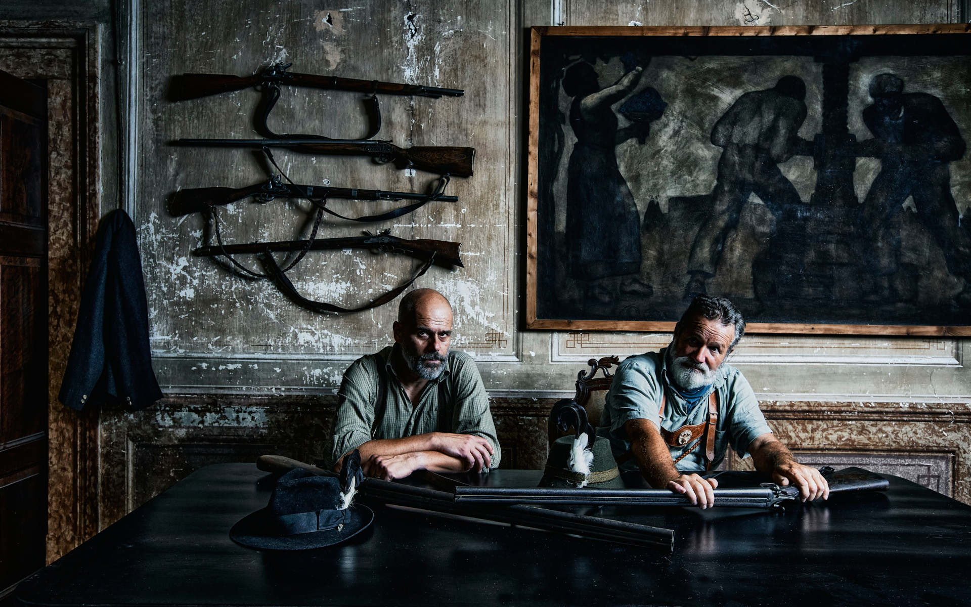Hunters, South Tyrol