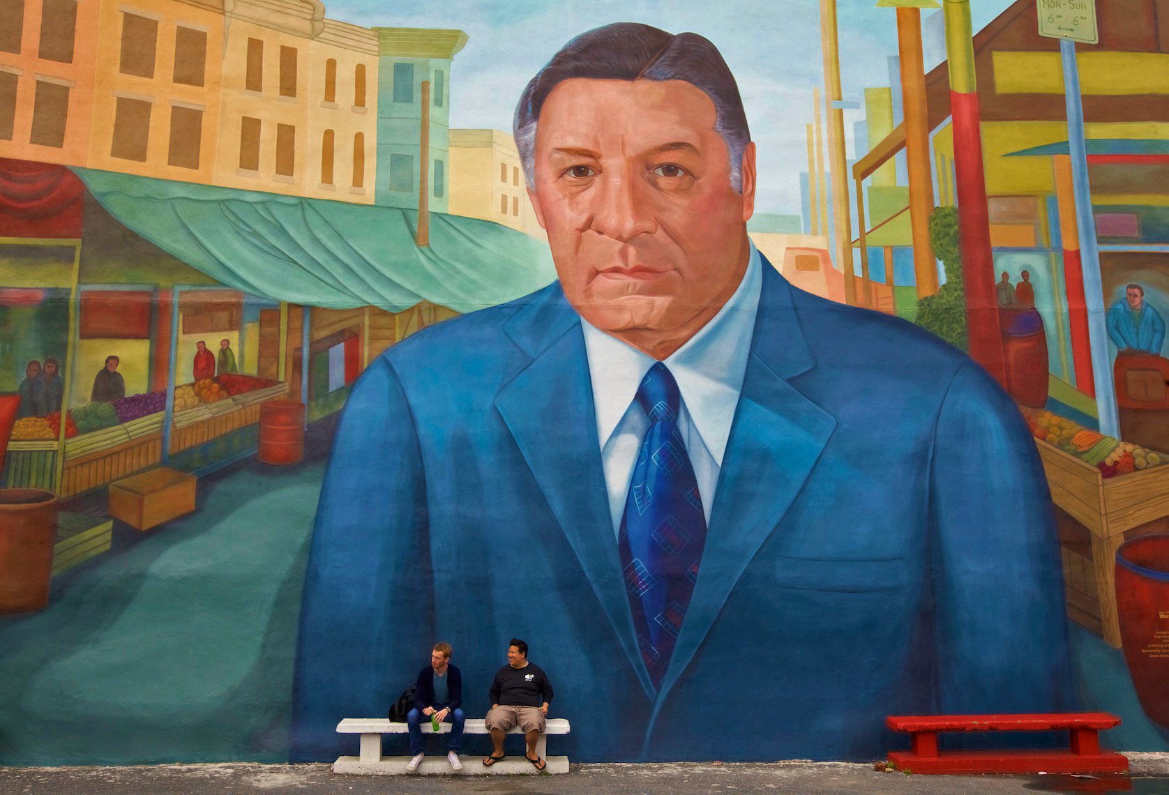 Mayor Frank Rizzo Mural, South Philadelphia