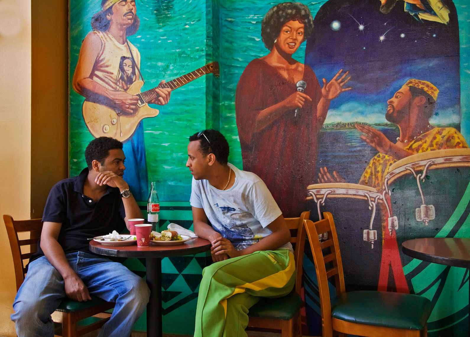 Ethiopian Café, Fillmore District, San Francisco
