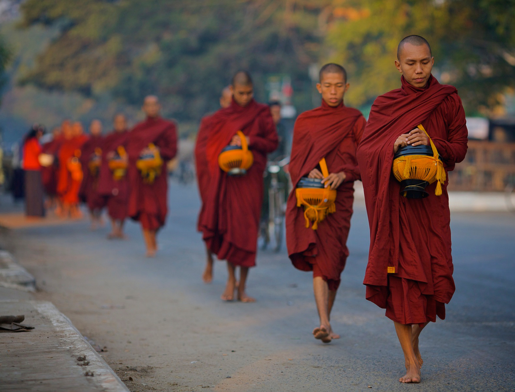 Monks, Mandalay, Burma