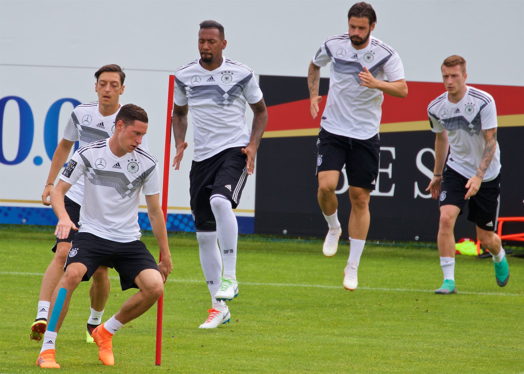 German National Team training  for the 2018 World Cup in Russia.