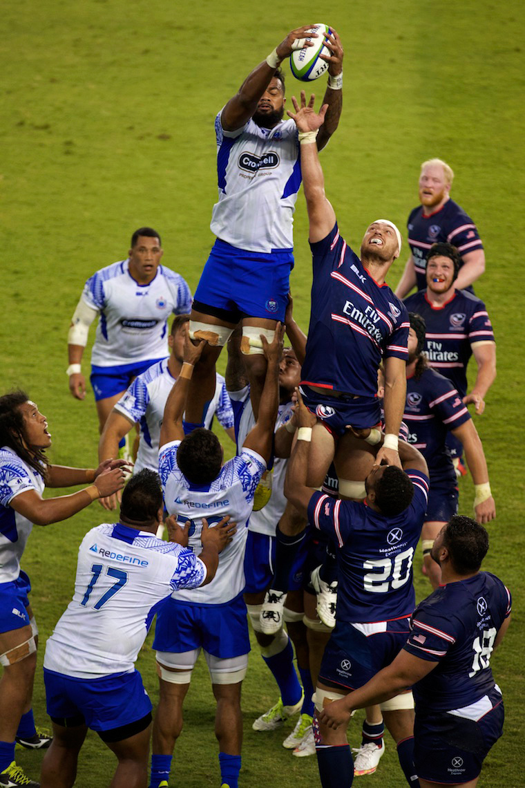 USA Eagles v. Samoa Rugby