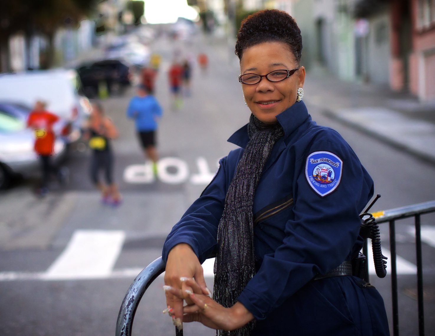 San Francisco Parking Control Officer Nicole Ward